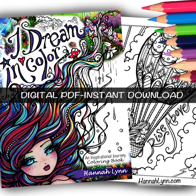 PDF I Dream in Color Inspirational Journey Coloring Book ...