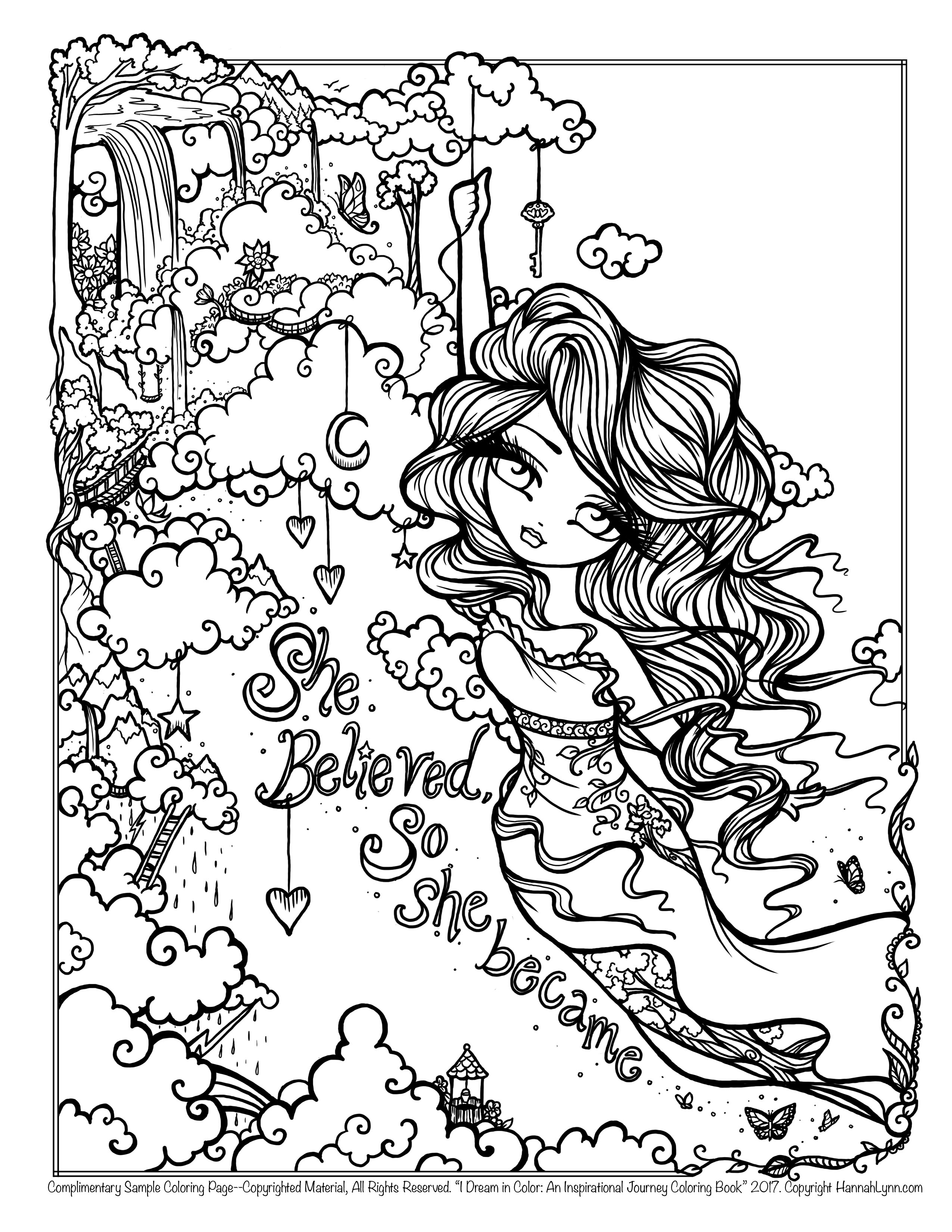 journey girl coloring pages - photo#18