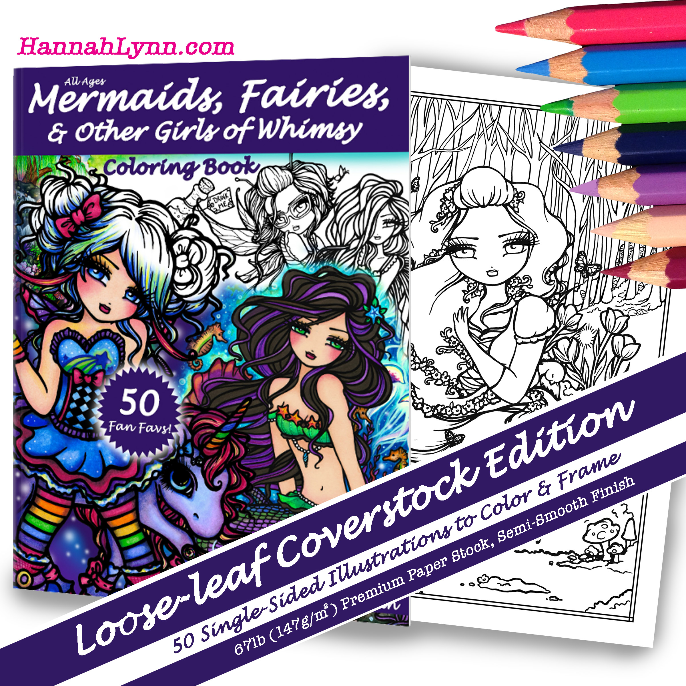 sold out mermaids fairies u0026 other girls of whimsy coloring book